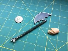 "1:6 Scale Apocalyptic ""Wasteland Battle Axe"" Custom Steel  Miniature By Auret"