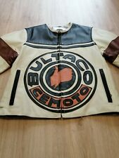 Women's Original Bultaco Leather Jacket Side XS Cafe Racer Style - Second Hand
