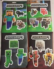 Minecraft Jinx Sticker Party Pack- 4 Sheets/ 17 Stickers