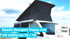 Elástico ayuda para techo levadizo de VW California T5/T6 Coast Beach (bungee)