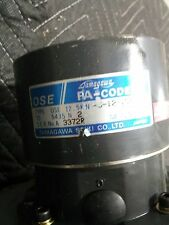 MITSUBISHI SERVO MOTOR HA80C-S W/FA-CODER OSE12.5KN-6-12-108