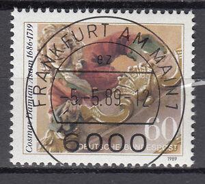 BRD 1989 Mi. Nr. 1420 gestempelt FRANKFURT AM MAIN , mit Gummi TOP! (15646)