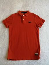 "Men's SUPERDRY polo shirt Medium chest 38"" short sleeves #2 The Classic Polo ora"