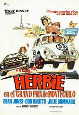 HERBIE GOES TO MONTE CARLO Movie POSTER 27x40 Spanish Dean Jones Don Knotts