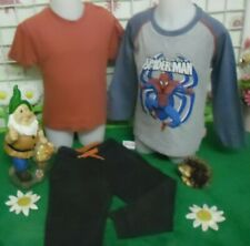 vêtements occasion garçon 3 ans,sweat SPIDERMAN,tee-shirt,bas de jogging