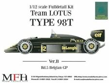 MFH Model Factory Hiro 1/12Team Lotus 98T Belgian GP Full detail kit