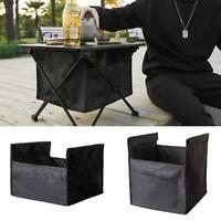 Outdoor Camping Klapptisch Aufbewahrungstasche Tragbarer Picknicktisch Grill x 1