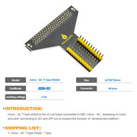 KEYESTUDIO T-type Shield Adapter Expansion Board for BBC MicroBit Breadboard EU