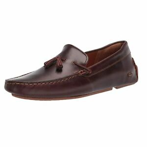 Lacoste Piloter Leather Tassle Loafer 0320 1 CMA, Brown
