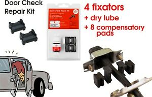 Door Check Repair Kit Stay Strap Stopper Replace for Toyota and Lexus (2 doors)