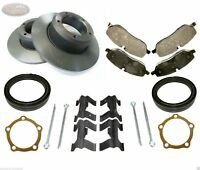 LAND ROVER DISCOVERY 1 & DEFENDER 300TDI - NEW FRONT BRAKE DISCS & PADS + KIT