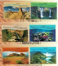 United Nations 1999 World Heritage Sites - Australia Set of 3 FDCs-all 3 Offices