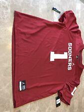 Oklahoma Sooners Football Jordan Nike Jersey #1 Boomer Sooners Men's 3XL