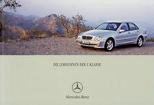 Prospekt mercedes clase c 8/02 auto folleto 2002 auto folleto c32 AMG 320 24