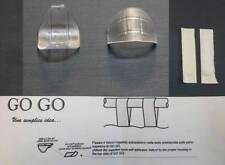 Anello, gancio Go Go trasparente per scorrimento delle tende sui bastoni Ø23 mm