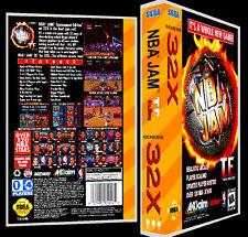 NBA Jam Tournament Edition - 32X Reproduction Art Case/Box No Game.