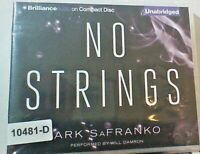 NEW *Sealed* AUDIO BOOK on CDs NO STRINGS Mark SaFranko 02