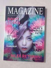 Ailee Magazine autographed/Signed cd album SNSD EXO ikon winner bts BAP bangtan