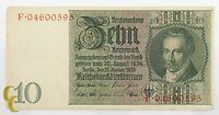 1929 Germany 10 Mark (XF) Extremely Fine Condition