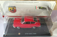 "DIE CAST "" OTS 1000 - 1965 "" + TECA RIGIDA BOX 2 SCALA 1/43"