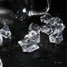 150pcs Acrylic Crystal Ice Rock Stones Aquarium Vase Gems Table Decor 4Colors
