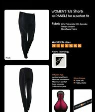 ladies cycling tights funkier padded thermal winter womens bike trousers 14 16