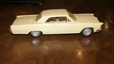 1963 Pontiac Bonneville Tan friction style Dealer Promo Car