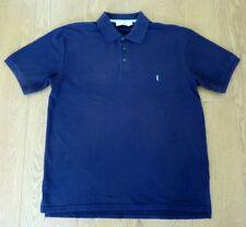 Yves Saint Laurent Men's Purple Short Sleeve Polo Shirt Top Size L