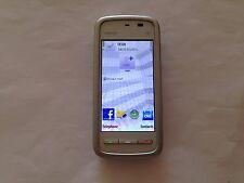 Nokia 5230-Argent (Débloqué) Smartphone Téléphone Portable