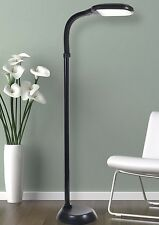 Standing Floor Lamp with Flexible Arm Light Adjustable Base Reading Home