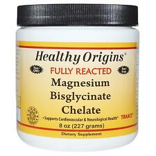 Magnesium Bisglycinate Chelate - 227g Powder by Healthy Origins - Supplement