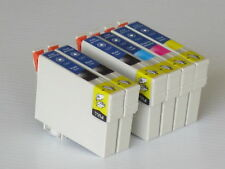 6pk T125 Non OEM cartridges T1251 T1252 T1253 T1254for Epson 320/323/325/520