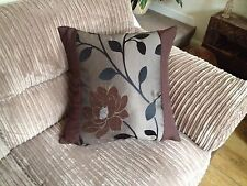 "4 22"" x 22"" Trendy Brown And gold cushion covers Why Buy From NEXT?"