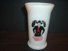 1950's Hopalong Cassidy Dinner Mug/Glass  RED & BLACK INK