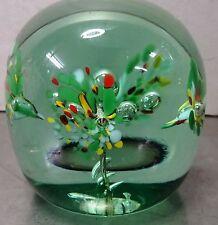 Aus Nachlass - Älterer sehr schöner dekorativer Glas Paperweight Briefbeschwerer