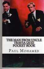 THE MAN FROM U.N.C.L.E THE TRIVIA QUIZ BOOK (2013) DAVID MCCALLUM ROBERT VAUGHN