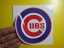 """BEST PRICE!! LOT OF 10 MLB DECAL / STICKER CHICAGO CUBS  5"""" X 5"""""""