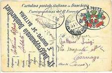POSTA MILITARE - IV RAGGRUPPAMENTO BATTERIA 1916