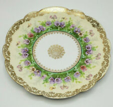 Imperial Crown China, Austria Antique Plate w/ Gilding in Great Condition-Lovely