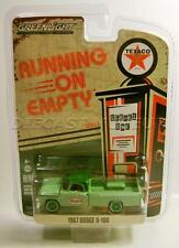1967 '67 D-100 PICKUP TRUCK TEXACO GAS GREEN MACHINE CHASE CAR RUNNING ON EMPTY