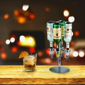 Bar Butler Wall Mounted & Rotary with Stand Drink Optic Dispenser 4 or 6 Bottle