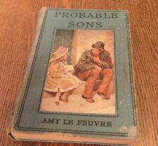 Probable Sons, Amy Le Feuvre, The Religious Tract Society, Hardcover