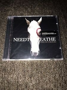 NEEDTOBREATHE THE OUTSIDERS BRAND NEW CD SEALED  SANITIZED FAST FREE SHIPPING