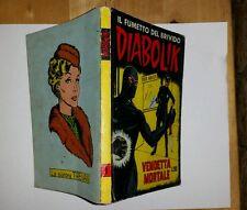 diabolik seconda serie n.3 anno febbraio 1965 edizione sodip originale.