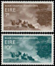 ✔️ IRELAND 1967 - CASHEL ROCK CASTLES - SC. 236/237 **  MNH OG [IR0196]