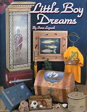 Little Boy Dreams Decorative Tole Painting Book by Irene Laycock NEW
