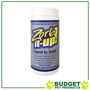 Zorb-It-Up Liquid To Solid Absorbent Powder For Cats And Dogs 226g