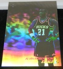 "SET OF THREE 1991 Upper Deck ""Alvin Robertson Steals"" Hologram Cards #AW2 3"
