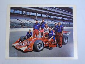 "1982 Indianapolis 500 Winner Gordon Johncock Patrick Racing 8.5"" x 11"" Postcard"