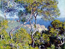 Claude Monet Bordighera canvas print giclee 8X12&12X17 reproduction art poster